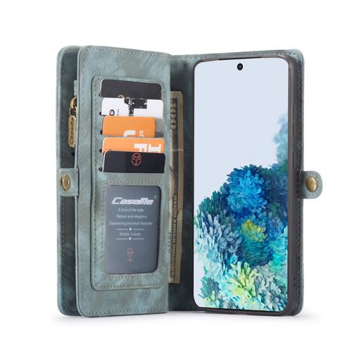 Blue Galaxy S20 Ultra CaseMe 11 Card Slot Wallet  Magnetic Case  - 1
