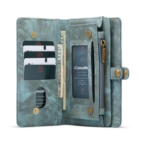 Blue Galaxy S21 CaseMe 11 Card Slot Wallet  Magnetic Case  - 1