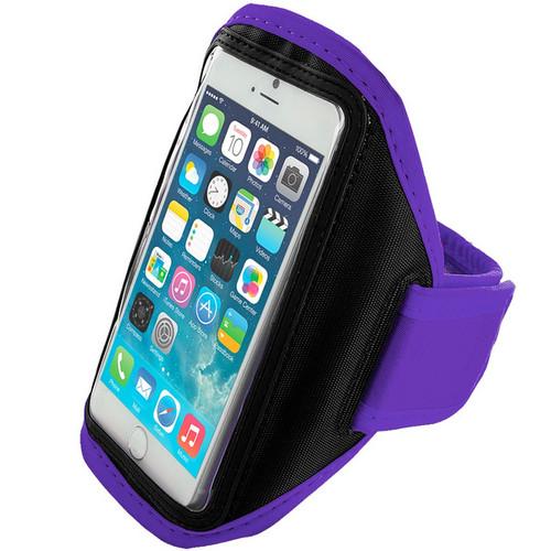 Purple Apple iPhone 6 / 6S Sports Armband Case