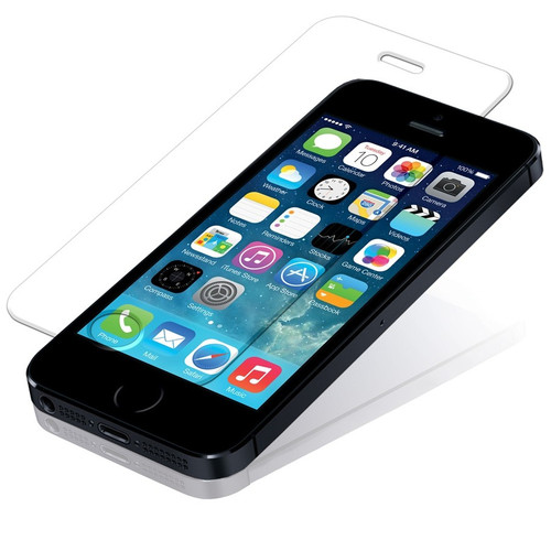 iPhone 5 5S 5C Tempered Glass Anti-Scratch Screen Protector