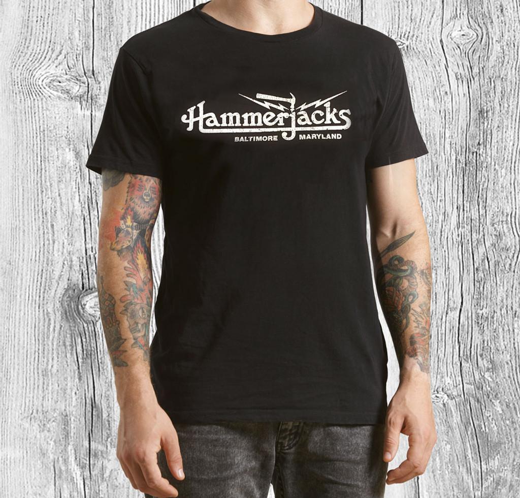 Hammerjacks T-Shirt With Crackle Logo