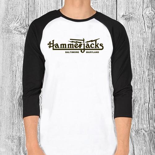 80's 3/4 Sleeve Hammerjacks T-Shirt