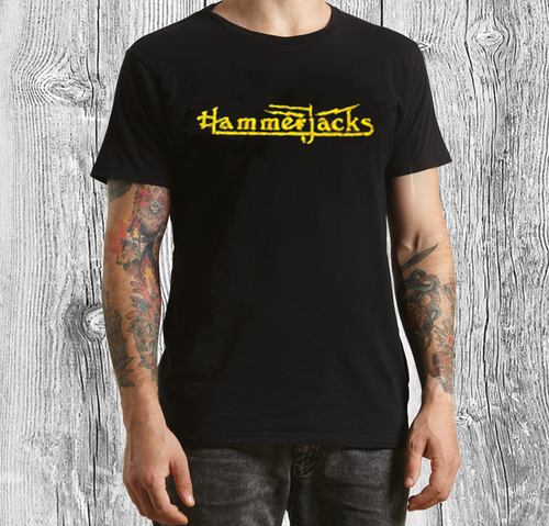 Vintage Distressed T-shirt in Black