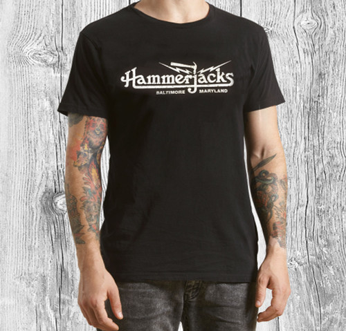 Hammerjacks T-Shirt With Crackle Logo