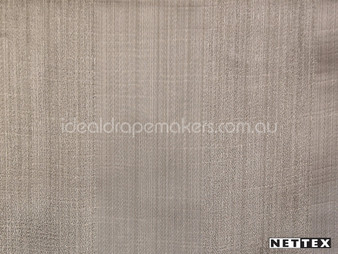 Nettex Wilton Mink (MG6)  | Curtain Fabric - Brown, Plain, Stripe, Synthetic, Traditional, Domestic Use, Standard Width