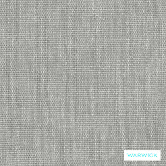 Warwick Ashanti Keylargo Zinc  | Upholstery Fabric - Washable, Grey, Transitional, Bacteria Resistant, Insect Resistant, Stain Repellent, Plain
