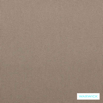 Warwick Bondi Outdoor Kona Stone  | Curtain & Upholstery fabric - Brown, Plain, Marine Use, Outdoor Use, Synthetic, Washable, Bacteria Resistant, Commercial Use, Halo