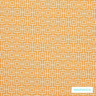 Warwick Bondi Outdoor Calippo  | Curtain & Upholstery fabric - Asian, Diaper, Geometric, Marine Use, Midcentury, Outdoor Use, Synthetic, Washable, Bacteria Resistant, Halo