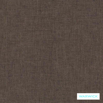 Warwick Chambray Elephant  | Curtain & Upholstery fabric - Washable, Brown, Plain, Fibre Blend, Standard Width