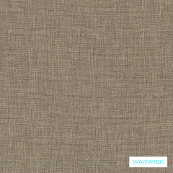 Warwick Chambray Flint  | Curtain & Upholstery fabric - Linen/Linen Look, Washable, Tan, Taupe, Transitional, Industrial, Plain, Fibre Blend
