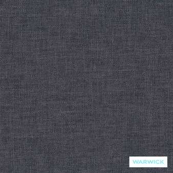 Warwick Chambray Ink    Curtain & Upholstery fabric - Washable, Grey, Transitional, Plain, Fibre Blend, Standard Width