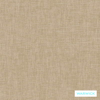 Warwick Chambray Mushroom  | Curtain & Upholstery fabric - Linen/Linen Look, Washable, Tan, Taupe, Natural, Plain, Fibre Blend, Standard Width