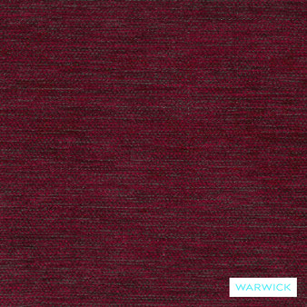 Warwick Circles Camira Lipstick  | Upholstery Fabric - Burgundy, Plain, Red, Synthetic, Washable, Commercial Use, Halo, Standard Width