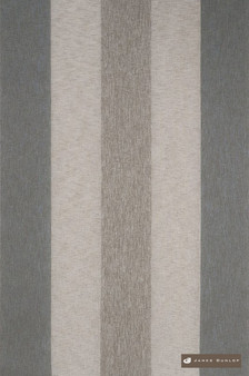 James Dunlop Garda - Linen  | Curtain Sheer Fabric - Silver, Fibre Blends, Stripe, Tan, Taupe, Traditional, Washable, Domestic Use, Dry Clean, Standard Width
