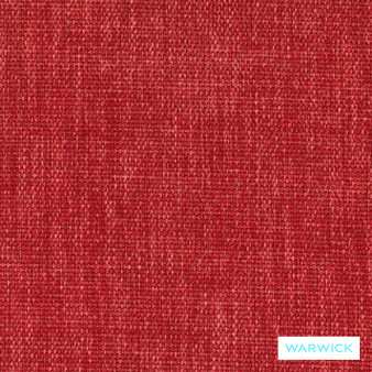 Warwick Keylargo Cherry  | Upholstery Fabric - Washable, Bacteria Resistant, Insect Resistant, Stain Repellent, Water Repellent, Plain, Rust