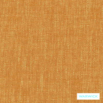 Warwick Keylargo Marigold  | Upholstery Fabric - Washable, Orange, Bacteria Resistant, Insect Resistant, Stain Repellent, Water Repellent, Plain