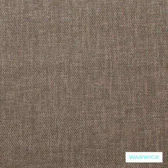 Warwick Keylargo Pumice  | Upholstery Fabric - Washable, Brown, Bacteria Resistant, Insect Resistant, Stain Repellent, Water Repellent, Plain