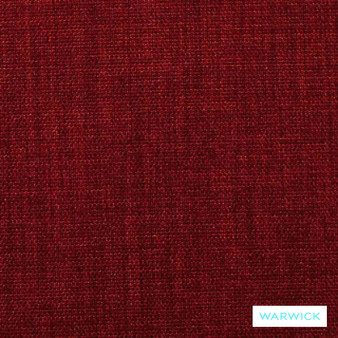 Warwick Keylargo Red  | Upholstery Fabric - Washable, Bacteria Resistant, Insect Resistant, Stain Repellent, Water Repellent, Plain, Rust