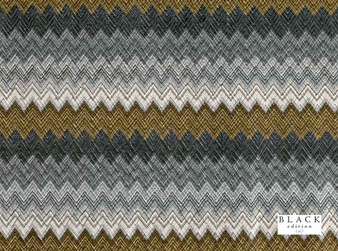 Black Edition - Zenith Muscovado  | Curtain & Upholstery fabric - Brown, Tan, Taupe, Contemporary, Eclectic, Dry Clean, Geometric, Velvets, Print