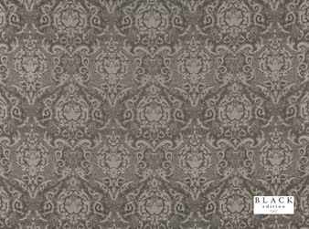 Black Edition - Boheme Cardamon  | Curtain & Upholstery fabric - Brown, Traditional, Dry Clean, Damask, Decorative, Fibre Blend, Standard Width