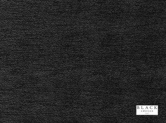 Black Edition - Novoli Magnesium  | Curtain & Upholstery fabric - Black, Charcoal, Dry Clean, Plain, Fibre Blend, Standard Width