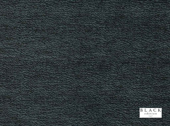 Black Edition - Novoli Storm  | Curtain & Upholstery fabric - Black, Charcoal, Dry Clean, Plain, Fibre Blend, Standard Width