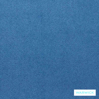 Warwick Macrosoft Hg Regatta  | Upholstery Fabric - Blue, Plain, HealthGuard, Synthetic, Washable, Commercial Use, Halo, Standard Width