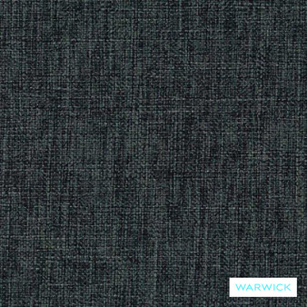 Warwick Matrix Steel    Upholstery Fabric - Plain, Black - Charcoal, Synthetic, Washable, Commercial Use, Halo, Standard Width
