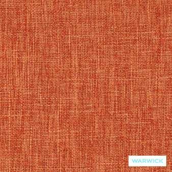 Warwick Matrix Terracotta    Upholstery Fabric - Plain, Synthetic, Washable, Commercial Use, Halo, Standard Width