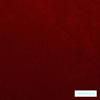 Warwick Mystere Red  | Upholstery Fabric - Washable, Burgundy, Bacteria Resistant, Insect Resistant, Stain Repellent, Water Repellent, Plain, Rust