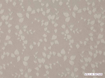 Villa Nova - Henley Marble  | Curtain & Upholstery fabric - Washable, Tan, Taupe, Contemporary, Floral, Garden, Botantical, Dry Clean, Reversible