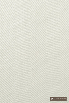James Dunlop Mayfair - Chalk  | Curtain Sheer Fabric - Fire Retardant, White, Fibre Blends, Linen and Linen Look, Stripe, Traditional, Washable, Commercial Use, Dry Clean