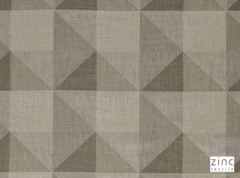 Zinc Textile - Simoom Taupe  | Curtain & Curtain lining fabric - Linen/Linen Look, Washable, Brown, Grey, Tan, Taupe, Contemporary, Wide-Width, Wool