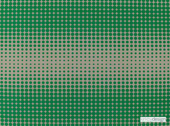 Kirkby Design - Boost Eden  | Upholstery Fabric - Green, Contemporary, Eclectic, Dry Clean, Geometric, Circles, Decorative, Dots, Spots, Fibre Blend