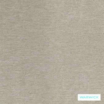 Warwick Shoreditch Prague Nougat  | Curtain & Upholstery fabric - Beige, Plain, Synthetic, Washable, Commercial Use, Halo, Natural, Standard Width
