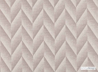 Kirkby Design - Apex Shell  | Curtain & Upholstery fabric - Tan, Taupe, Contemporary, Dry Clean, Chevron, Zig Zag, Herringbone, Fibre Blend