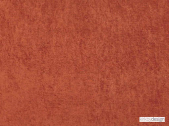 Kirkby Design - Ion Rust  | Curtain & Upholstery fabric - Washable, Eclectic, Dry Clean, Velvets, Plain, Rust, Standard Width