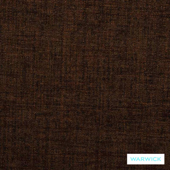 Warwick Suzani Verona Bark  | Upholstery Fabric - Brown, Plain, Synthetic, Traditional, Washable, Commercial Use, Standard Width