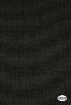 Wilson - Luxury Oxford - Midnight  | Curtain & Upholstery fabric - Fire Retardant, Plain, Black - Charcoal, Synthetic, Commercial Use, Textured Weave, Standard Width