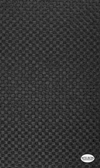 Wilson - Flinders - Ebony  | Curtain & Upholstery fabric - Basketweave, Black - Charcoal, Synthetic, Traditional, Domestic Use, Standard Width