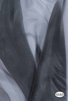 Wilson - Francesca - Pewter  | Upholstery Fabric - Grey, Plain, Synthetic, Domestic Use, Wide Width