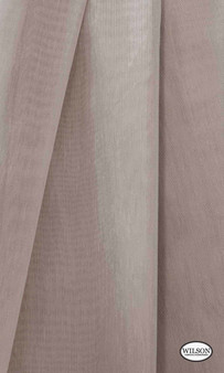 Wilson - Aruba Sheer - Ash  | Curtain Sheer Fabric - Pink, Purple, Synthetic, Tan, Taupe, Domestic Use, Wide Width