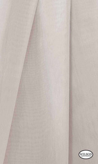 Wilson - Aruba Sheer - Cinder  | Curtain Sheer Fabric - Beige, Plain, Synthetic, Domestic Use, Wide Width