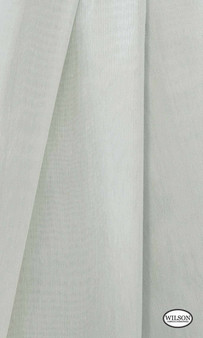 Wilson - Aruba Sheer - Snowgum  | Curtain Sheer Fabric - Plain, Synthetic, Domestic Use, Wide Width