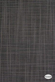 Wilson - Tuscany II - Translucent - Charcoal  | - Stain Repellent, Plain, Black - Charcoal, Synthetic, Textured Weave, Suitable for Blinds, Plain - Textured Weave, Strie