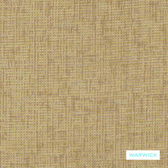 Warwick - Berge Acacia  | Upholstery Fabric - Beige, Plain, Domestic Use, Plain - Textured Weave, Railroaded, Standard Width