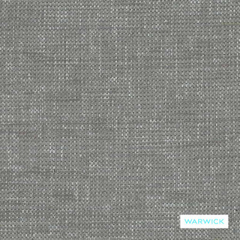 Warwick - Berge Dove  | Upholstery Fabric - Grey, Plain, Silver, Domestic Use, Plain - Textured Weave, Railroaded, Standard Width