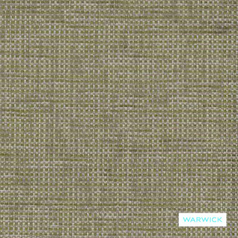 Warwick - Berge Wasabi  | Upholstery Fabric - Plain, Domestic Use, Plain - Textured Weave, Railroaded, Standard Width