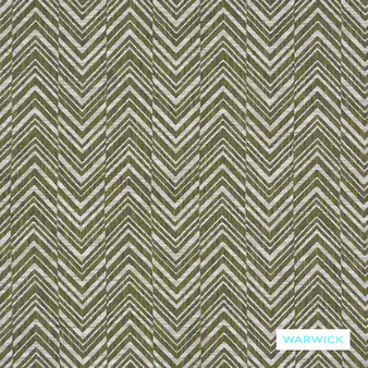 Warwick - Costa Chartreuse  | Upholstery Fabric - Green, Traditional, Railroaded, Transitional, Chevron, Zig Zag, Herringbone, Pattern, Standard Width