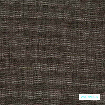 Warwick - Nixon Fudge  | Upholstery Fabric - Brown, Plain, Deco, Decorative, Decorative Weave, Domestic Use, Plain - Textured Weave, Railroaded, Strie